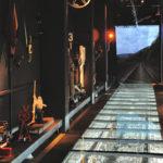 30 mètres d'histoire: A côté d'installations d'aiguillage datant de jusqu'à deux siècles (gauche), la technologie ferroviaire se développe sous les pieds du visiteur.