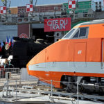 Welcome to the future. Since 1981, the first orange-coloured TGV has been travelling between Paris and Lyon