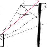 Fahrdraht: elektrischer Leiter der Oberleitung, der über den Stromabnehmer das Rollmaterial mit Strom versorgt