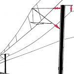 Isolator: Bauteil mit äußerst geringer elektrischen Leitfähigkeit, um den Stromfluss durch die Befestigungselemente am Oberleitungsmast zu vermeiden