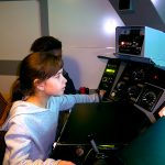 Train driver for a day – exciting !