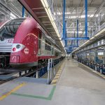 The necessary infrastructures for the maintenance of electric railcars are also available in the new workshop.