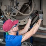 The maintenance of the brakes : a must in view of the weight of several tons!