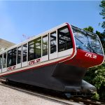 With the new funicular, you'll reach the Plateau de Kirchberg in no time.