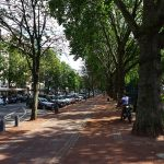 """Königsallee is Germany's most visited luxury boulevard, renowned for its luxury boutiques. Called """"Kö"""" for short, Düsseldorf's probably most famous street is a popular destination for shopping and going out."""