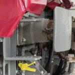 """Anlässlich der """"mi-vie"""" werden auch die Stoßstangen des Z2-Elektrotriebwagens, die sogenannten Puffer, gewartet und generalüberholt."""