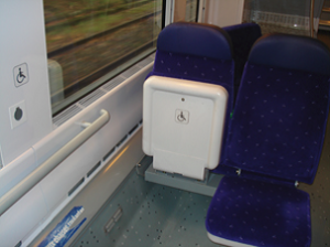 Seat reservations for passengers with mobility impairment - 2200 Serie (TER2ng)