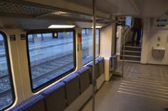 Reservierter Platz für Personen mit eingeschränkter Mobilität - Doppelstock-Triebzug DOSTO