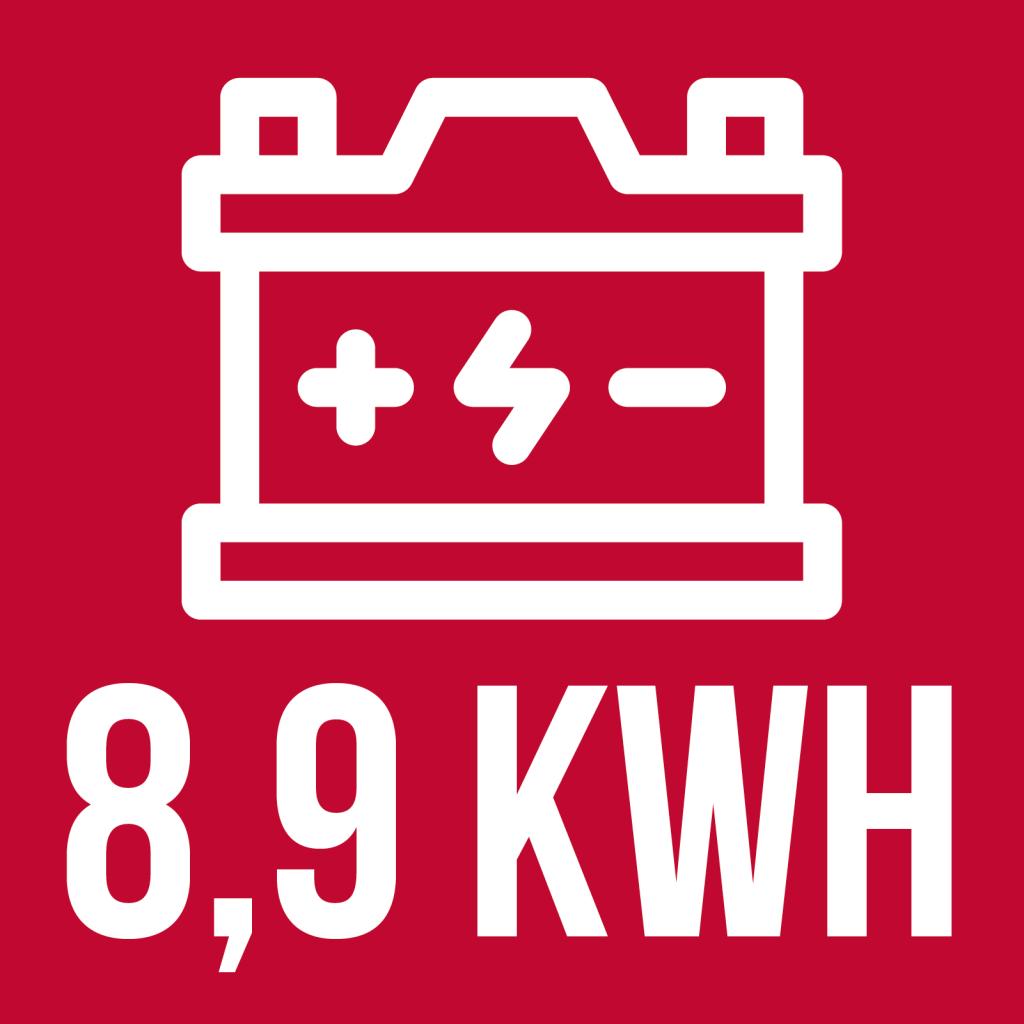 batterie de 8,9 kWh