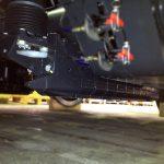Patin de frein magnétique